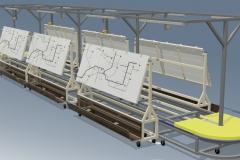 Карусель, ротаційна, дошки, РК-01А, wire, harness, assembly, line