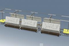 Модульний конвеєр для монтажних дошок